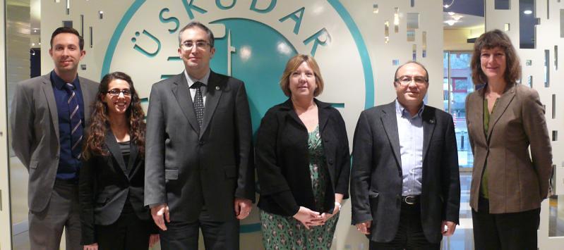 Üsküdar Üniversitesi ve Worcester Üniversitesi ERASMUS anlaşması imzaladı.