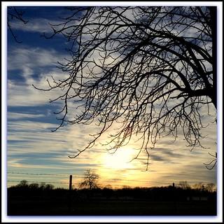 ~~ The first December Sunset 2014 ~~