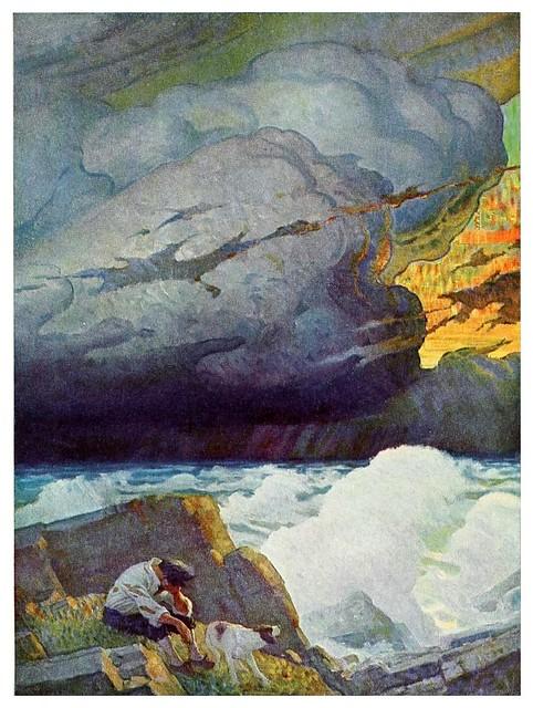 015-Robinson Crusoe-1920- ilustrado por NC Wyeth