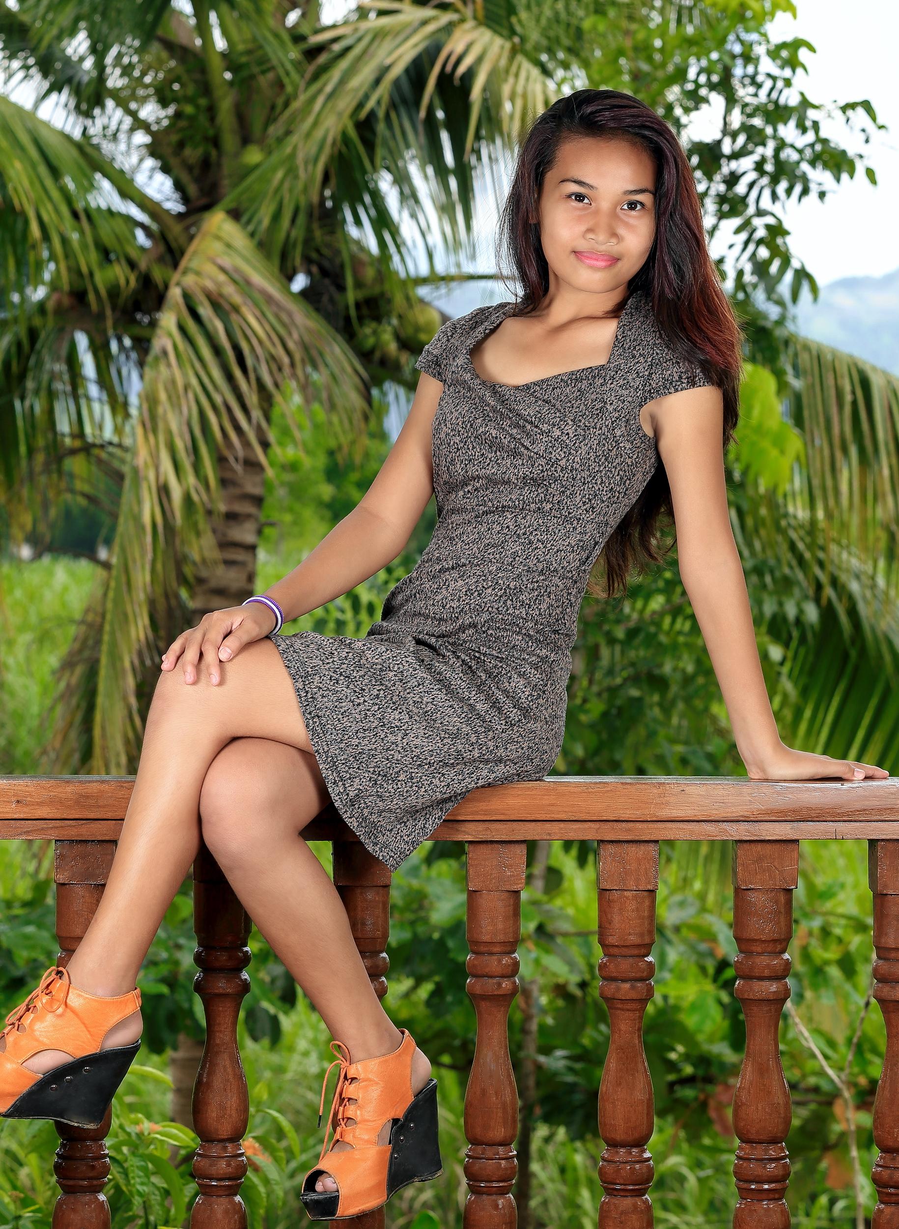 Phillipino Mädchen