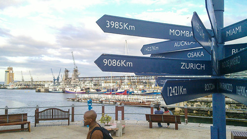 Cape Town to Zürich, 9086 KM