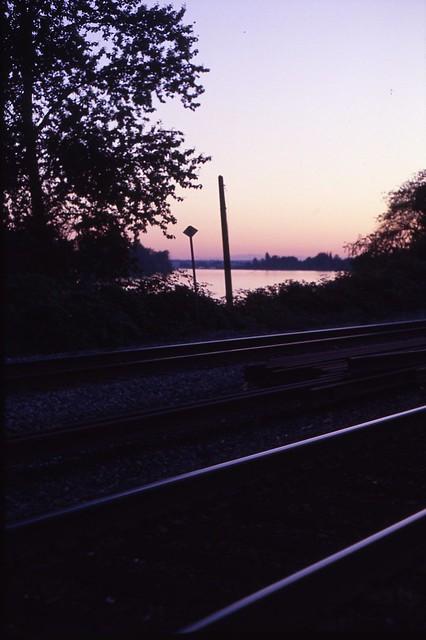 cross the tracks