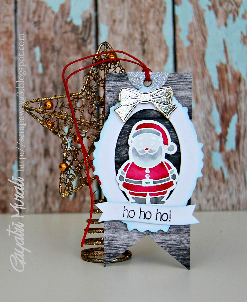 H ho ho! Card