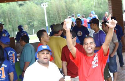 Grande festa reabre Clube de Campo