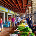 The Old Town Market In Kotor, Montenegro by Butch Osborne