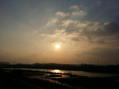 겨울아침 |  공릉천