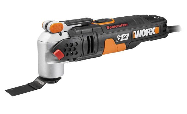 The F50 Sonicrafter from WORX can be used for a wide variety of tasks
