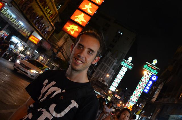 Miguel Egido de Diario de un Mentiroso en Chinatown, Bangkok