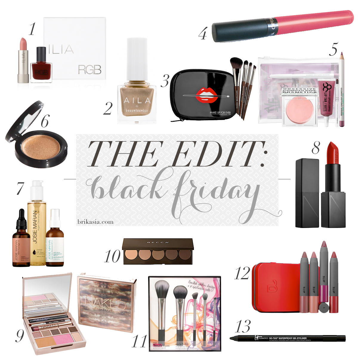 Makeup and Beauty Black Friday and Cyber Monday Coupons and Deals