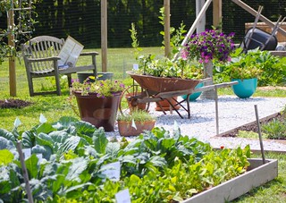 The Fairfield County Extension Center Demonstration Garden