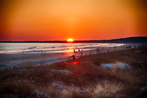 sunset southcarolina kiawah kiawahisland