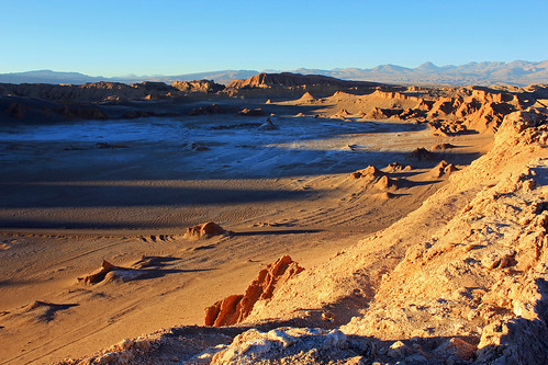 Valle de la Luna - Desierto de Atacama, Chile