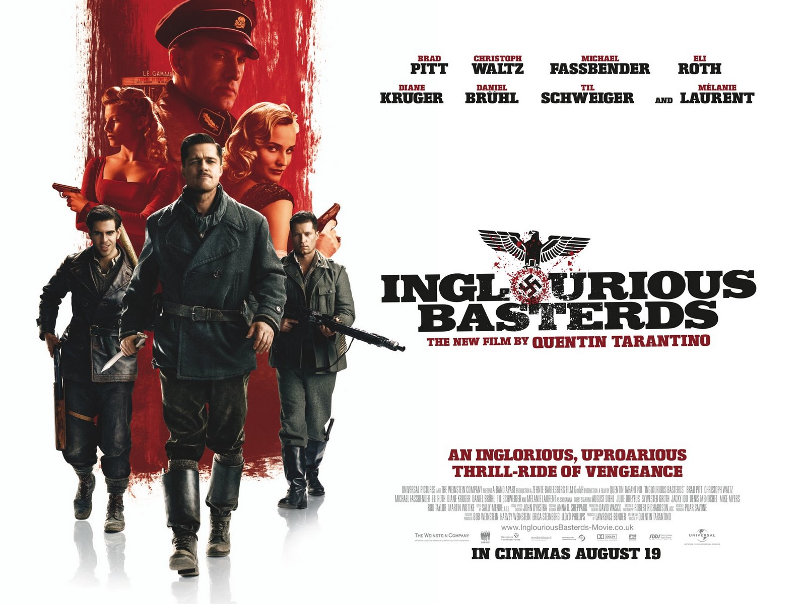 Inglourious Basterds (2009) | Amazing Movie Posters