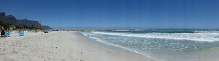 Image of Camps Bay Beach near Cape Town. southafrica