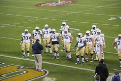 Georgia Tech offensive linemen