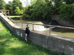 6 Spillway from Henry Ford Millpond - Northville, Mi.