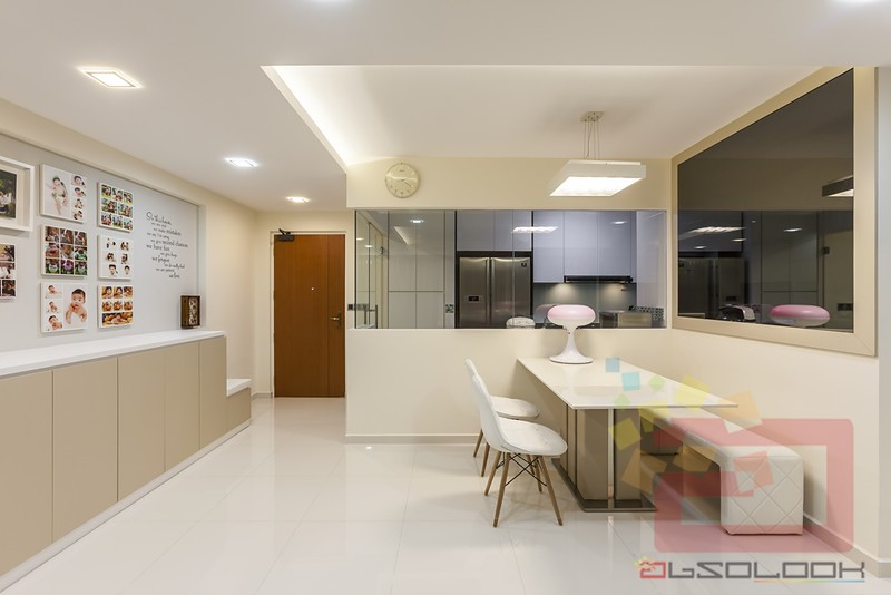 Hdb 5 room bto neutral palette blk 315c yishun greenwalk for 3 room bto design ideas