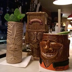 carving, wood, tiki, ceramic, lighting,