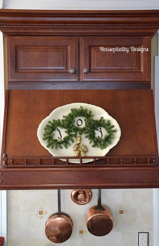 Joy Wreath Platter-Housepitality Designs