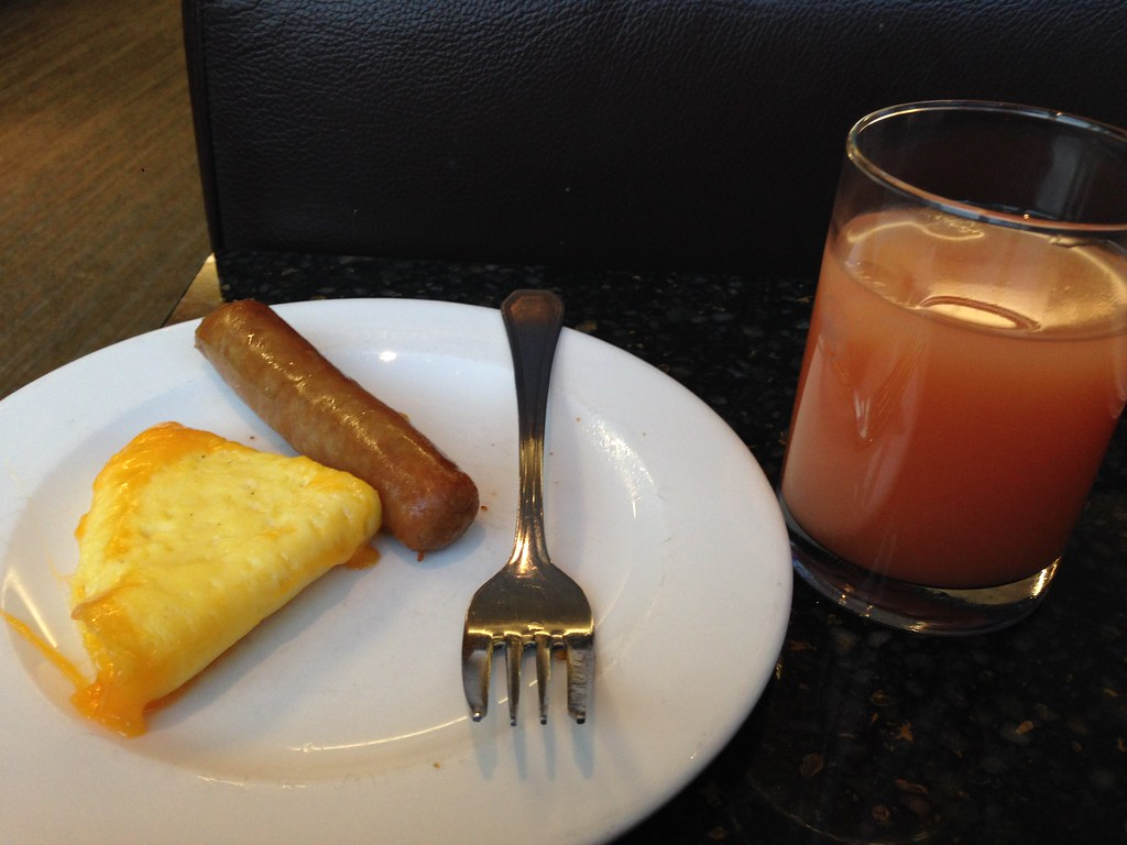 Breakfast at the Maple Leaf Lounge