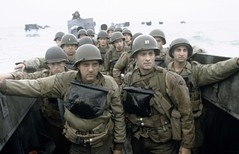 Tom Hanks and Tom Sizemore in Saving Private Ryan - 1024
