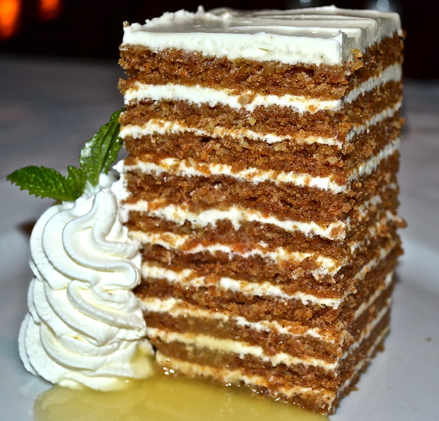 Ocean Prime Atlanta - ten layer cake