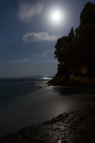 light sea vacation moon blur beach water greece skiathos sporades thessaliastereaellada