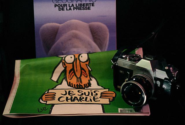 Pour la liberté de la presse Je suis Charlie