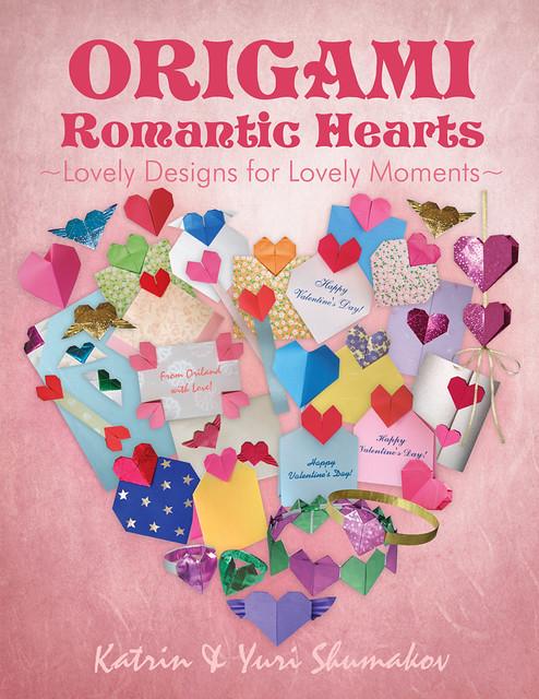 Origami Romantic Hearts Book!