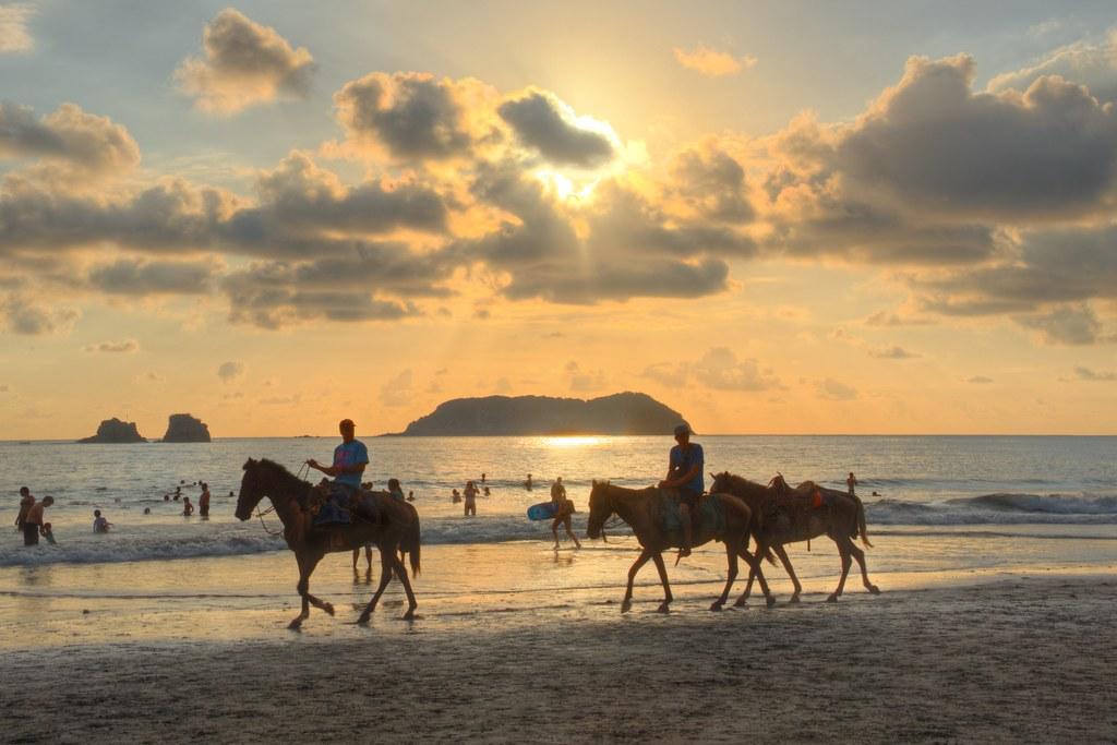 Sunset on Playa Espadilla