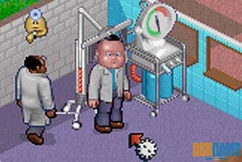 Theme Hospital - Enfermo con cabeza gigante