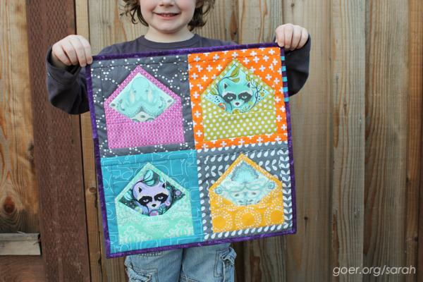 Schnitzel and Boo Mini Swap - Sarah Goer Quilts : envelope quilt pattern - Adamdwight.com