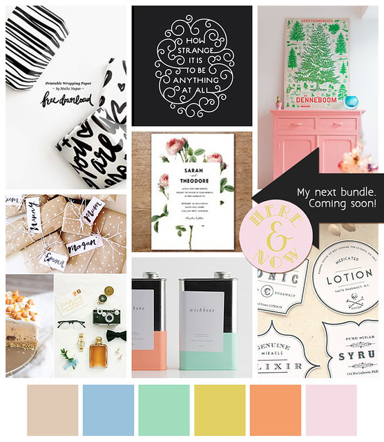 Here & Now Mood Board