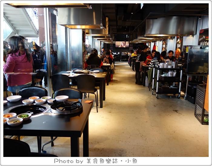 【台北信義】Honey Pig韓式烤肉 想吃排到死 @魚樂分享誌