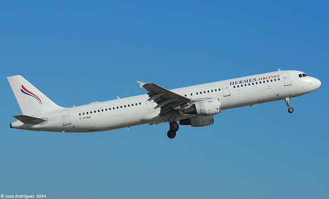 F-GYAN - Air Mediterranee  Airbus A321-111
