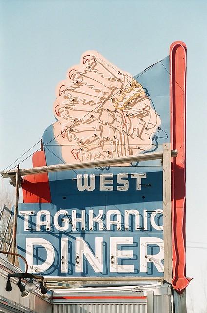 West Taghkanic Diner sign