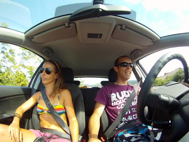 En coche de alquiler por Menorca