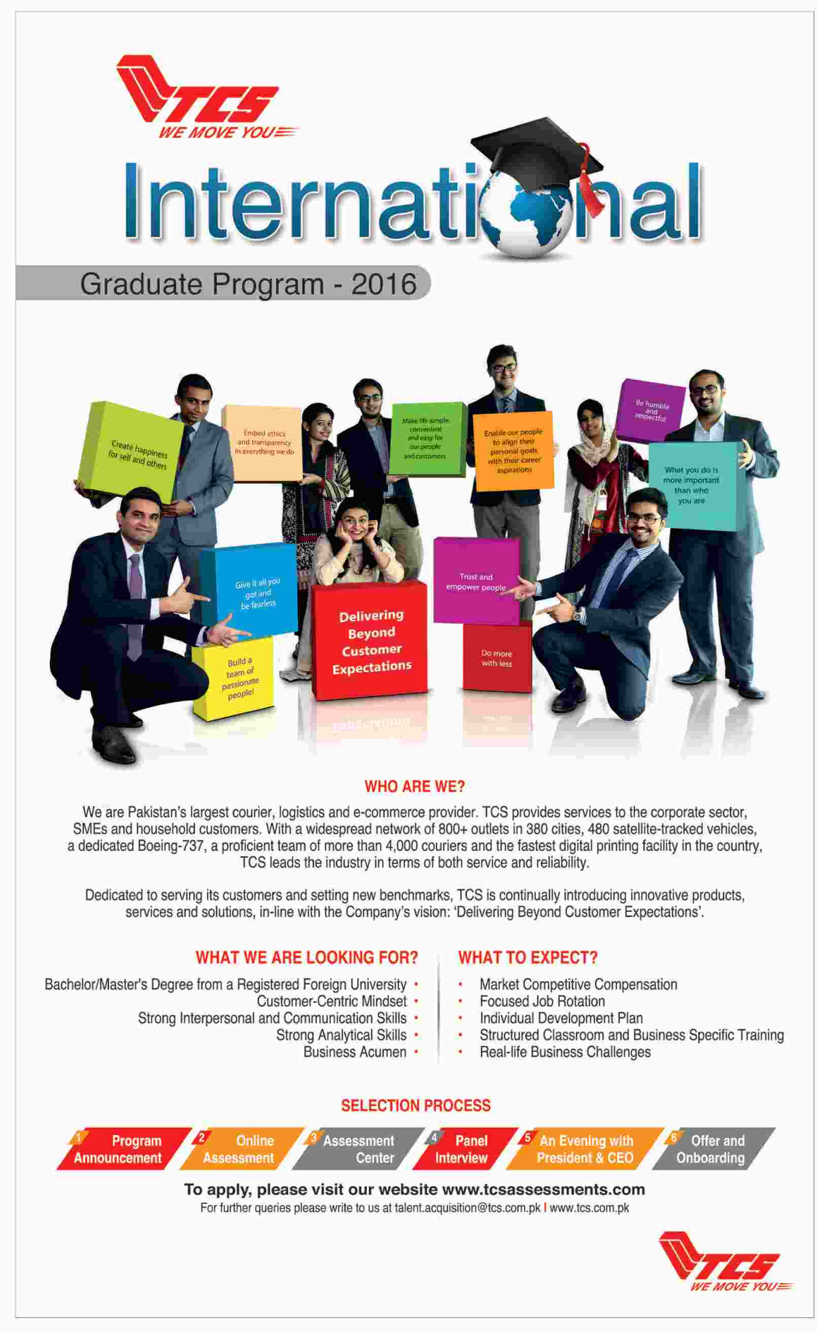 TCS Graduate Program 2016
