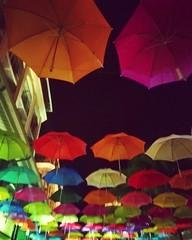 #colourful #umbrellas