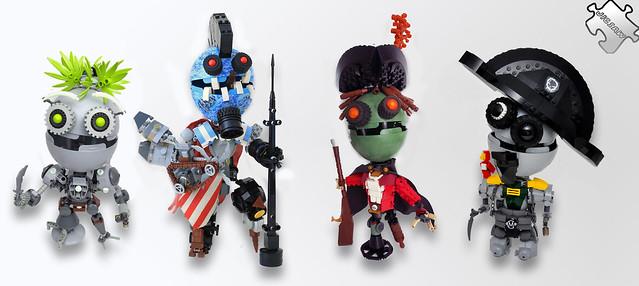 Pirate Jigbots - 無料写真検索fotoq