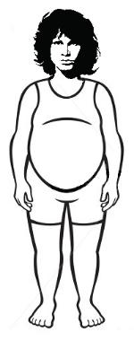 Jim Morrison, Fat