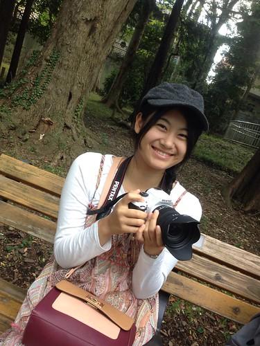 菅原澪さん(日本女子大学1年)