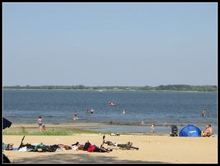 Sandstrand Freest közelében Peenemünde képe.