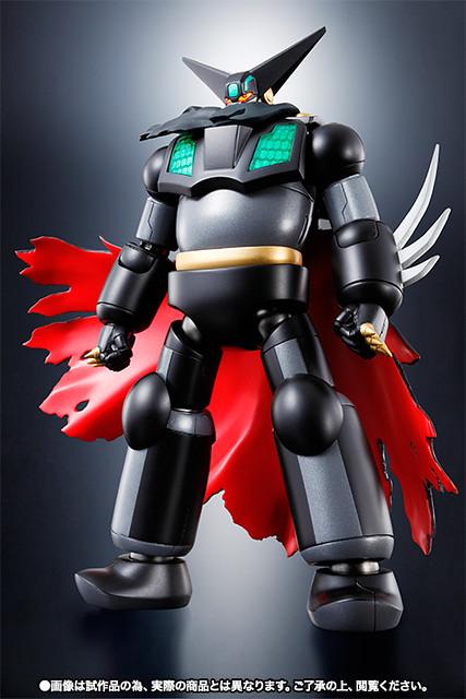 漆黑的蓋特機器人SR超合金系列登場!