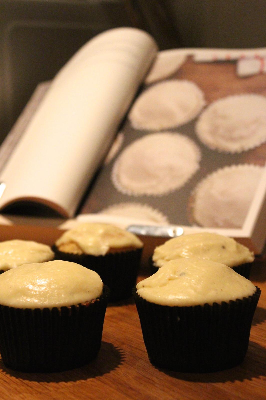 Camomile Vanilla Cupcakes