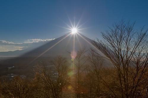 sunset japan canon 日本 富士山 hdr mtfuji 山中湖 1635mm 山梨縣 世界遺產 diamondfuji 5dmarkiii ダイアモンド富士 鑽石富士