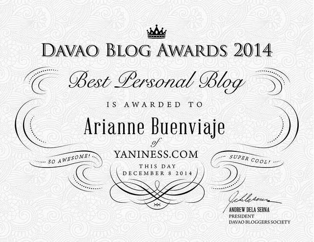 Best Personal Blog Award