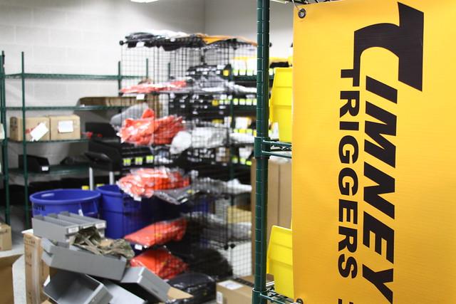 Timney Triggers Storage + Inventory