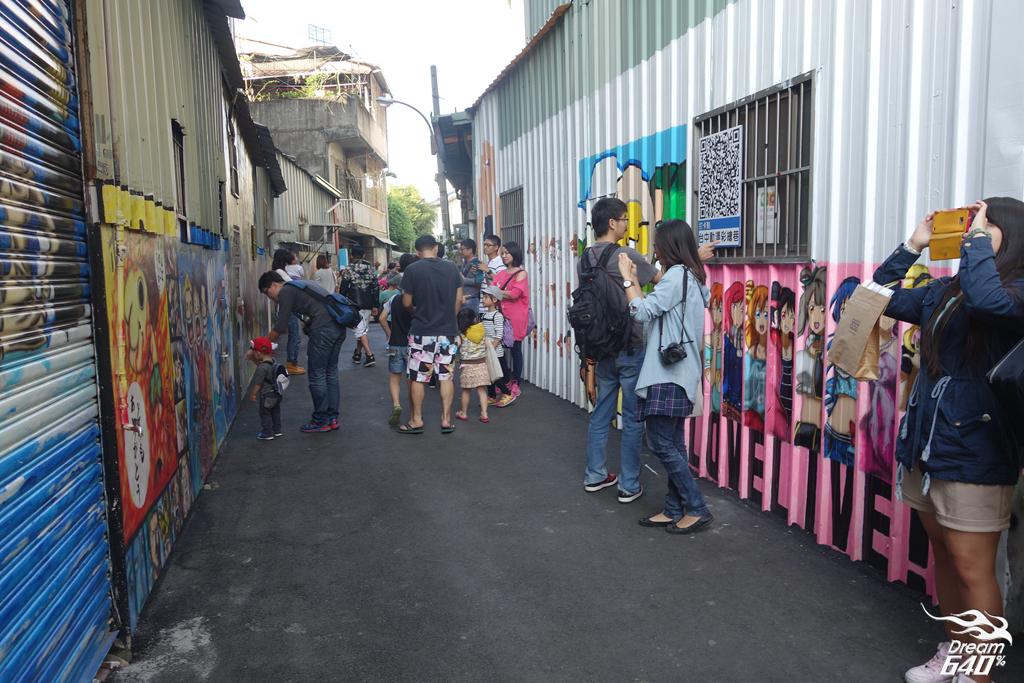 台中林森路動漫彩繪巷25