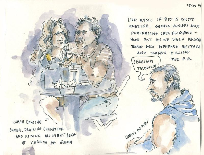 Bar scene, Rio